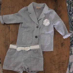 Adorable summer suit
